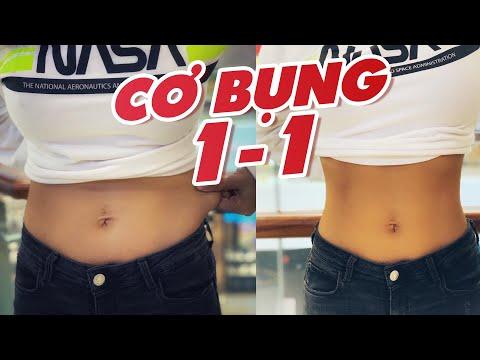 Tập cơ bụng 1-1 trong 7 ngày  | Workout #157 ♡ Hana Giang Anh