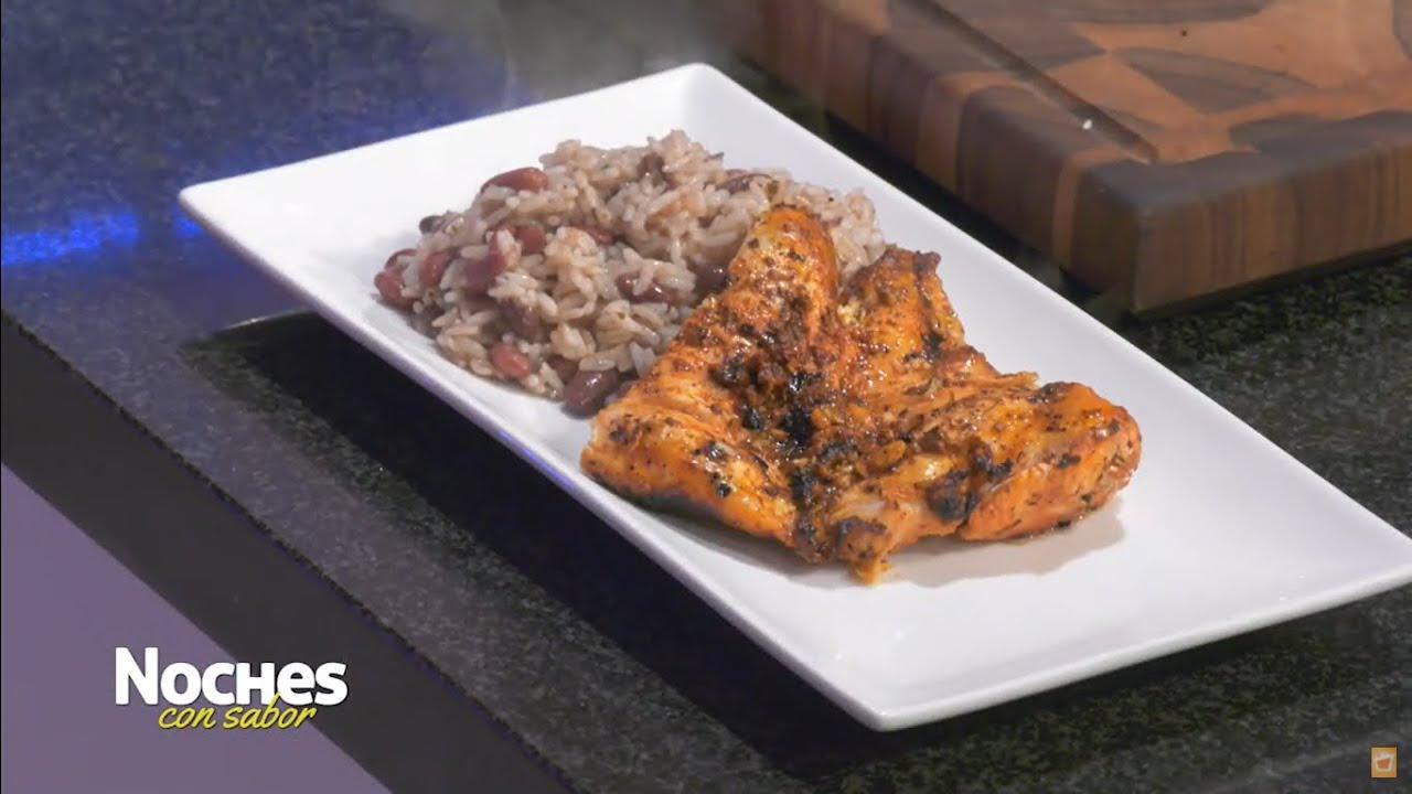 Pollo asado - ¡Fácil, delicioso y jugoso! 🤤 NOCHES CON SABOR