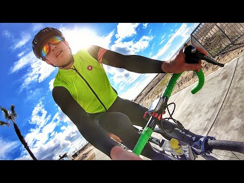 THE WORST WEATHER IN LA EVER! (did it ruin the weekend?)  - #cycling Los Angeles