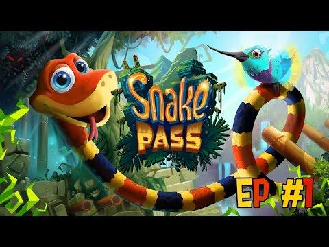 I AM A SNEKKY SNEK - Snake Pass #1