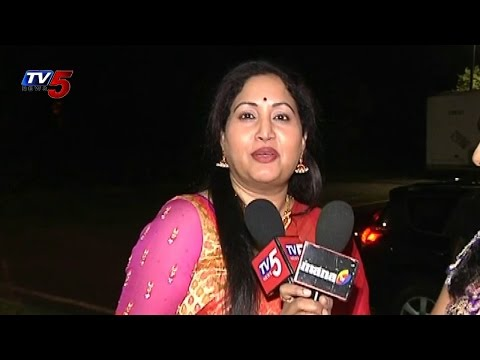 Womaania Ladies Night 2014 | Artist Rajitha with TV5 News