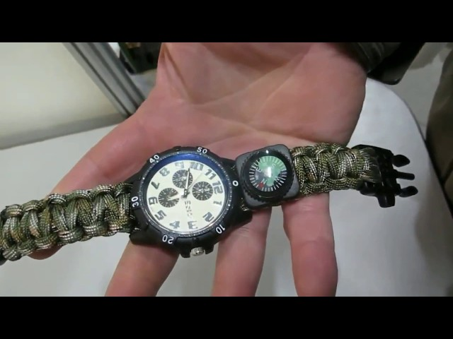 Xinhao Paracord Watch
