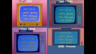 The Simpsons intro since the 90'