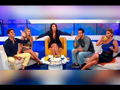 Sandra Arana le canta sus verdades a Antonio Pav�n
