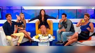 Sandra Arana le canta sus verdades a Antonio Pavón