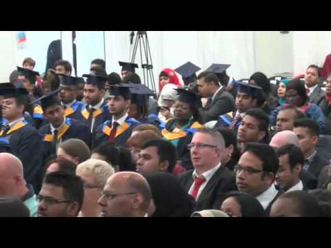 Anglia Ruskin University, London - Graduation October 2015