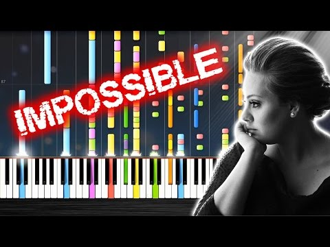 Adele  Someone Like You  IMPOSSIBLE Piano  PlutaX