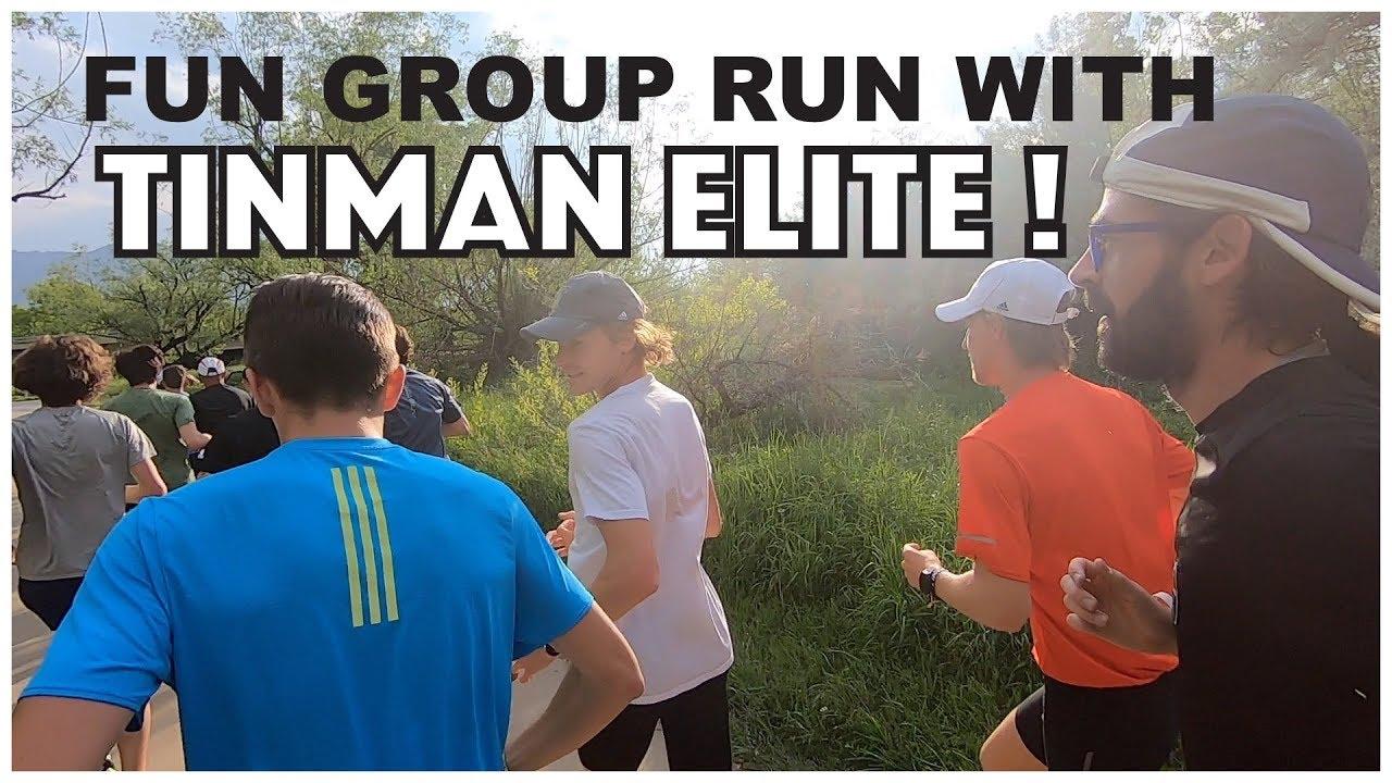 FUN GROUP RUN WITH TINMAN ELITE IN BOULDER!