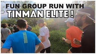 FUN GROUP RUN WITH TINMAN ELITE IN BOULDER!