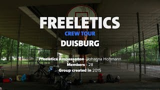 Freeletics Crew Tour 2017 | Duisburg, Germany