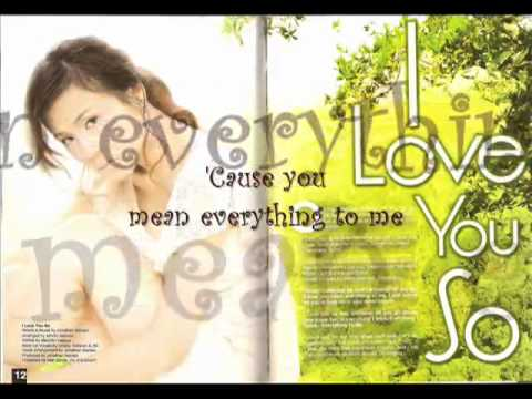 I Love You So  - Toni Gonzaga