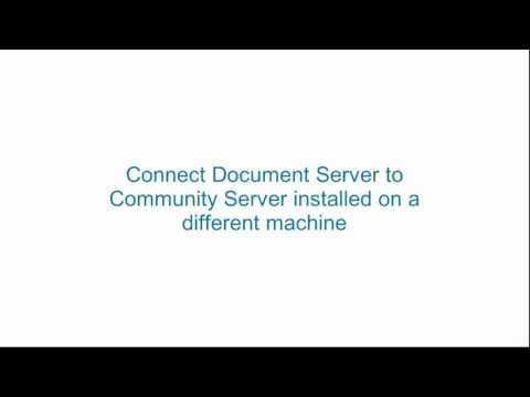 How to connect online editors to ONLYOFFICE Community Server?