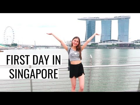 First Day In Singapore! Orchard Road, Marina Bay Sands & Gardens By The Bay⎮Singapore Trip 2018