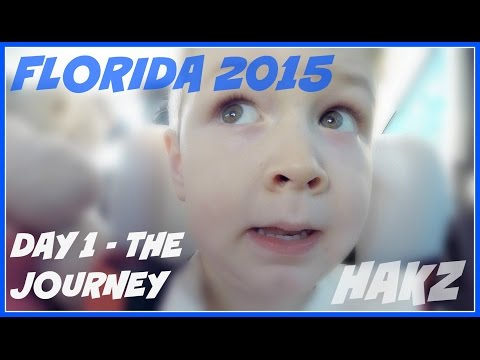 Florida 2015 - Day 1 - THE JOURNEY (23 Apr) GOPRO