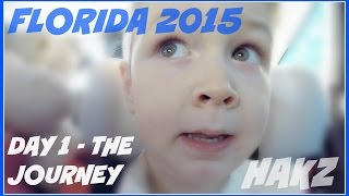 Florida 2015 - Day 1 - The Journey (23 Apr 2015) GOPRO