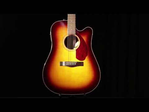 Fender CD 140SCE Acoustic Electric Guitar