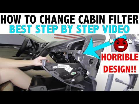 2013 Ford Fusion - Cabin Air Filter Replacement How-To Video