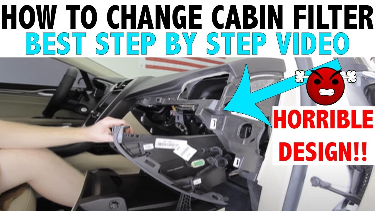 2013 Ford Fusion Cabin Air Filter Replacement How To