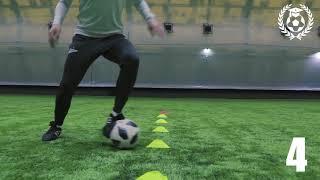 ТОП 7 упражнений для обучения техники ведения мяча