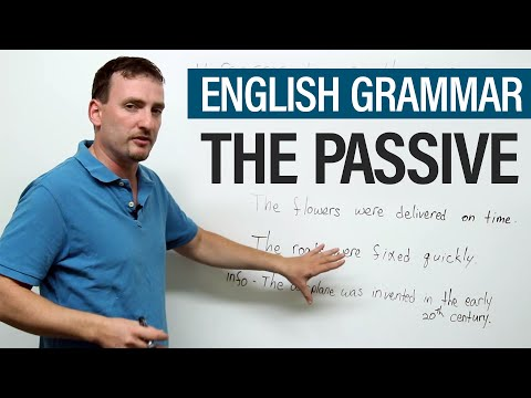 The Passive: When, why, and how to use it · engVid