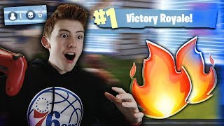 MY FIRST SOLO FORTNITE WIN!