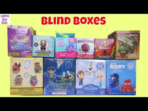 Blind Boxes Surprises Toys Disney Finding...