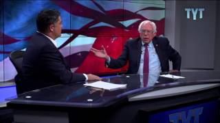 Bernie Sanders: People Should Vote For Vision, NOT Against Someone