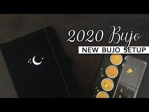 2020 Bullet Journal | New Bujo Setup