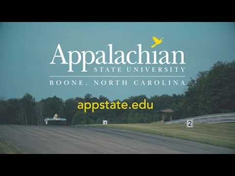 Appalachian State University Institutional Ad 2016