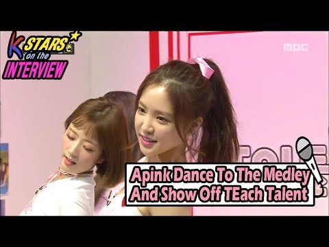 [CONTACT INTERVIEW★] Apink Dance To The Medley And Show Off Each Talent 20170702