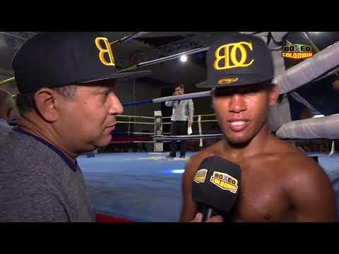 Jose Sanmartín vs Marlembron Acuña - Post fight interview