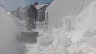 Testing the ion21SB-Pro 40V SnowJoe Snowblower