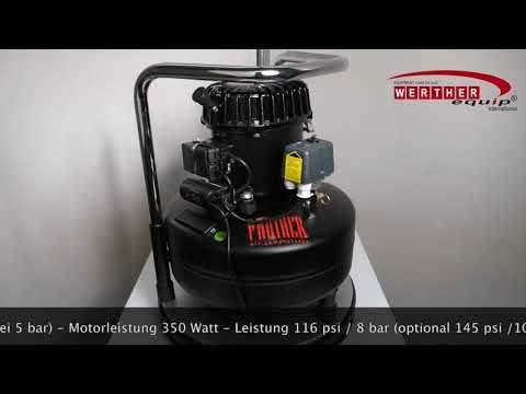 PANTHER 50-24 Flüsterkompressor (silent compressor)