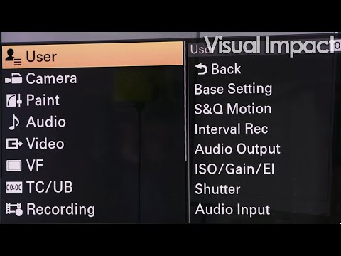 Visual Bytes - 05 User menu