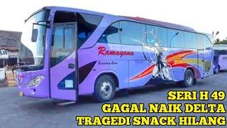 TRIP REPORT MAGELANG - CIJAGO ; BUS RAMAYANA SERI H49 ; VIP CLASS