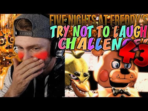 Vapor Reacts #653 | [FNAF SFM] FIVE NIGHTS AT FREDDY'S TRY NOT TO LAUGH CHALLENGE REACTION #43