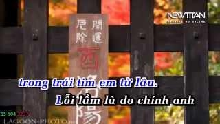 [karaoke] HD Hãy Cho Anh Bên Em ( Singer: Bằng Cường ) beat gốc