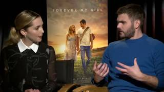 """Forever My Girl"" Interview with Jessica Rothe and Alex Roe"