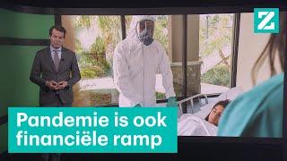 Een echte pandemie kost biljoenen euro's • Z zoekt uit