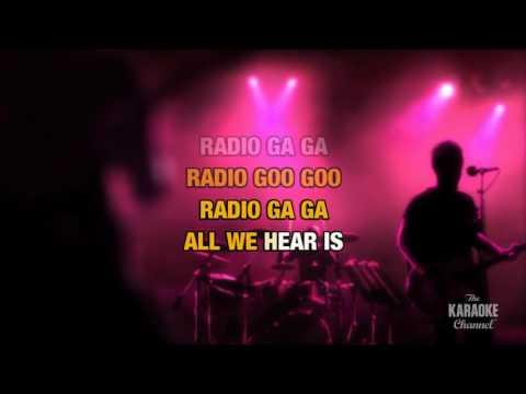 Radio Ga-Ga : Queen | Karaoke with Lyrics