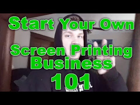 How I Started My Screen Printing Business (And How You Can Too) - The Q & A Episode 1