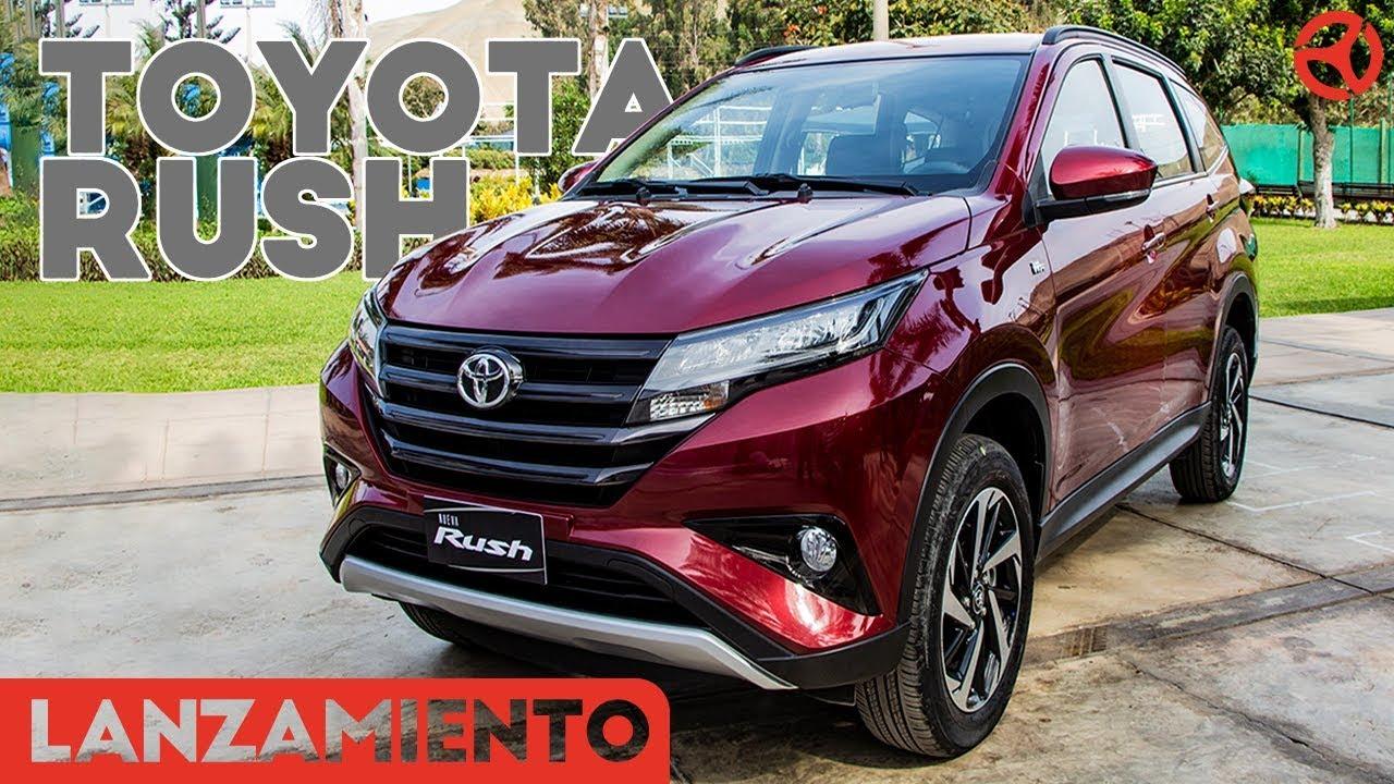 toyota rush 2019  una mini suv de 7 pasajeros