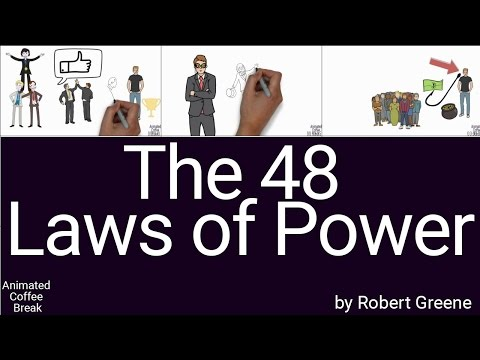 The 48 Laws of Power by Robert Greene ; Animated Book Summary