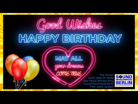 """new-happy-birthday-song-2019-for-adults-❤️good-wishes-""""happy-birthday-song""""-pop-lyric-video-whatsapp"""
