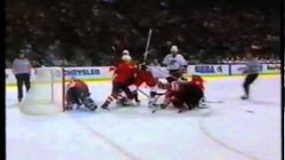 Hockey rough stuff - 1996 World Cup of Hockey pt.3/3