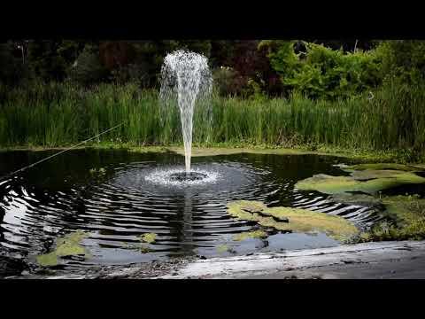 Fountain Tech's Supreme Pond Fountain