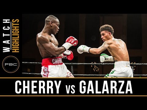 Cherry vs Galarza HIGHLIGHTS: PBC on FS1 - April 13, 2018