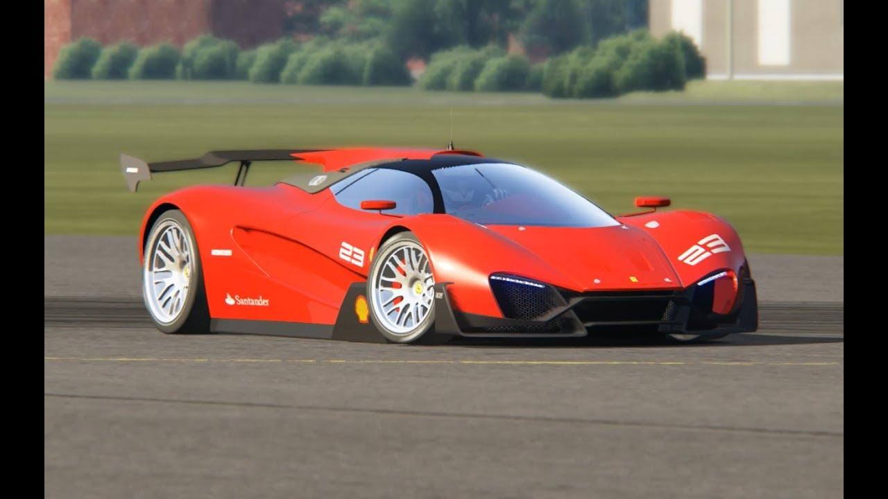 Ferrari Xezri Concept at Top Gear Testing