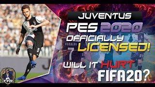 [TTB] PES 2020 - JUVENTUS LICENSED! - NEW TRAILER - WILL IT HURT FIFA 20?!