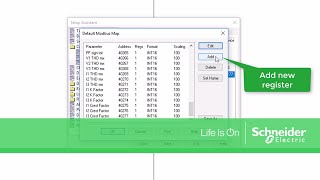 Adding Modbus Points to an ION Meter Default Modbus Map in ION Setup | Schneider Electric Support